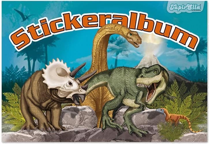 Stickeralbum Dinosaurier (ohne Sticker)