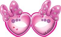 6 Partymasken Minnie Mouse