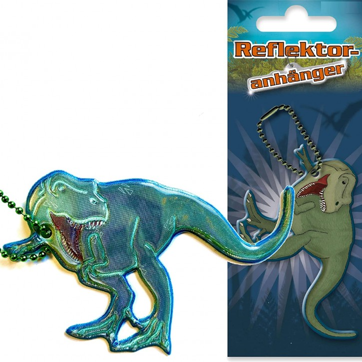 Reflektor-Anhänger T-Rex