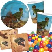 37-teiliges Spar-Set: Dinos und T-Rex
