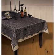 Tischdecke Spinnenweben