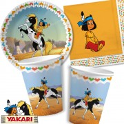 37-teiliges Spar-Set: Indianer Yakari