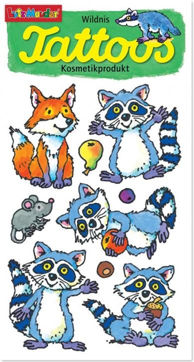 Waschbären Tattoos