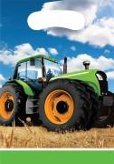 8 Partytüten Traktor