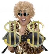 Sonnenbrille American Dollar in Gold