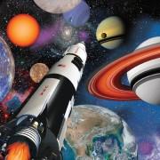 16 Servietten Weltraum - Space Blast
