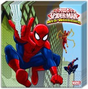 20 Servietten Spiderman - Web Warriors