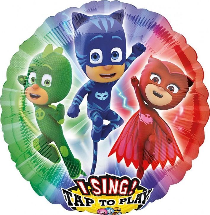 Singender Folienballon PJ Mask