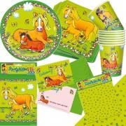 105-teiliges Set: Pferde und Ponyhof