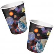 8 Becher Weltraum - Space Blast