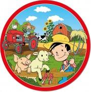 8 Teller Bauernhof