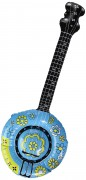Aufblasbares Hippie-Banjo