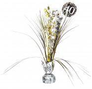 Centerpiece 40. Geburtstag - Sparkling Celebration