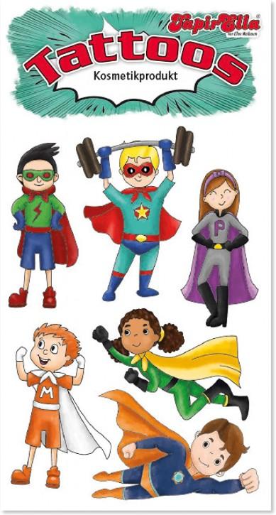Superhelden Tattoos