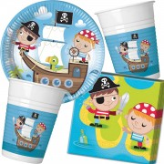 37-teiliges Spar-Set: Kleine Piraten