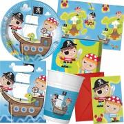 101-teiliges Set: Kleine Piraten