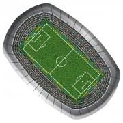 8 Teller Fußball Stadion