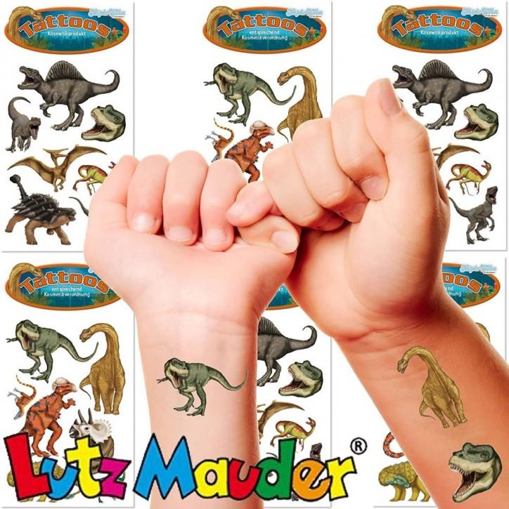 42-teiliges Tattoo-Set Dinosaurier