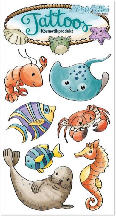 Meerestiere Tattoos