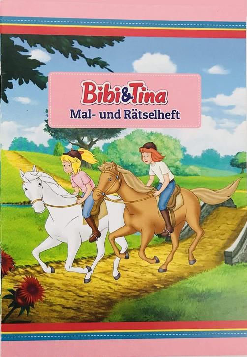 Mal- und Rätselheft Bibi und Tina