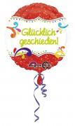 Folienballon Glücklich geschieden