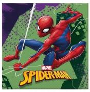 20 Servietten Spiderman - Team Up!