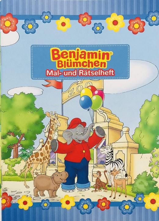 Mal- und Rätselheft Benjamin Blümchen
