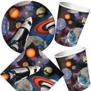 33-teiliges Spar-Set: Weltraum / Space Blast