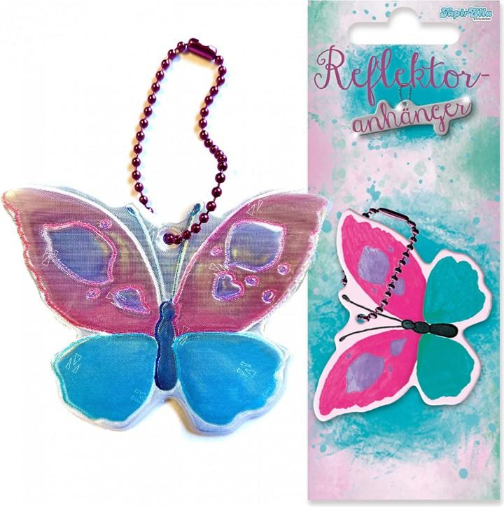 Reflektor-Anhänger Schmetterling