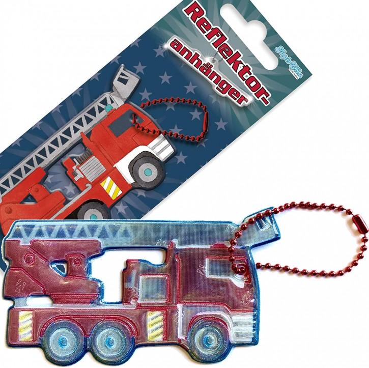 Reflektor-Anhänger Feuerwehr