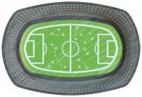 6 geformte Teller Stadion