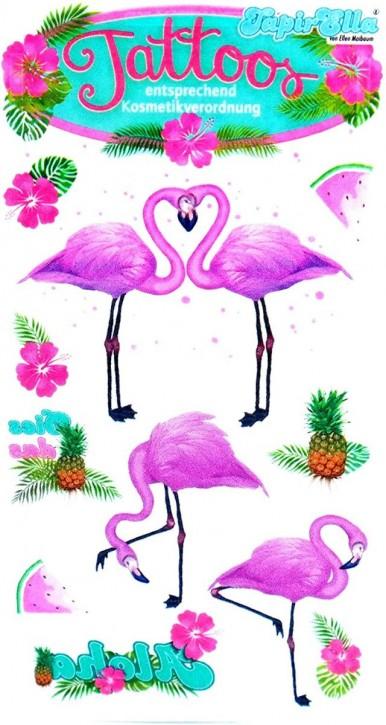 Pink Flamingo Tattoos