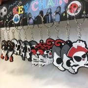 12 Schlüsselanhänger Piraten