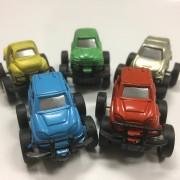 5 Mini-Autos mit Rückzug