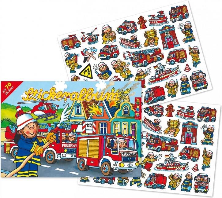 Stickeralbum Feuerwehr