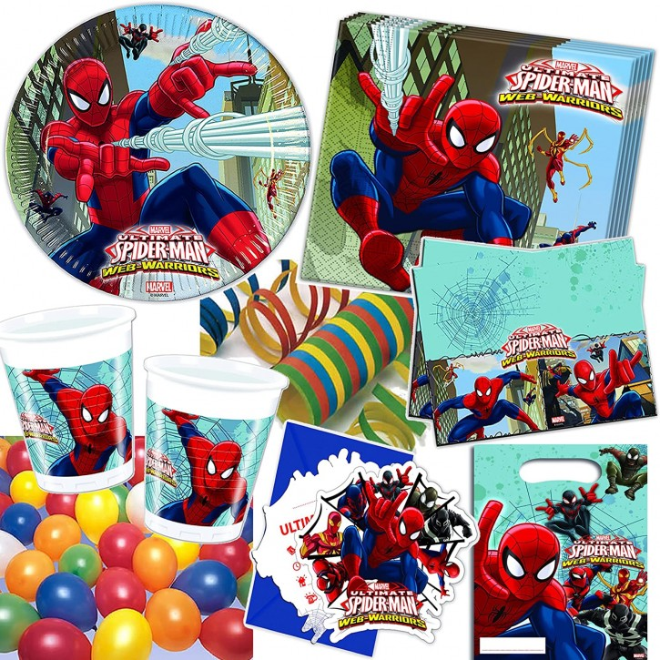 101-teiliges Set: Spiderman - Web Warriors