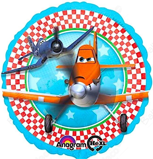 Folienballon - Planes (43cm)