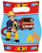 8 Partytüten Feuerwehrmann Sam