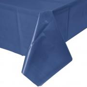 Tischdecke Kunststoff dunkelblau