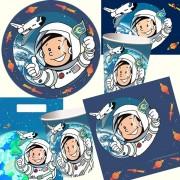 104-teiliges Set: Astronaut Flo