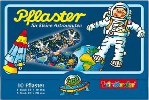 10 Kinder-Pflaster Astronaut