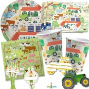 108-teiliges Set: Bauernhof