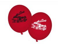 8 Luftballons Feuerwehr
