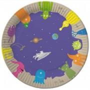 8 Teller Weltraum