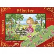 """10 Pflaster """"Froschkönig"""" für Kinder"""