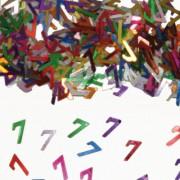 Konfetti für den 7. Geburtstag