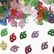 Konfetti für den 65. Geburtstag