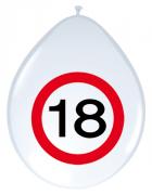 8 Luftballons 18. Geburtstag