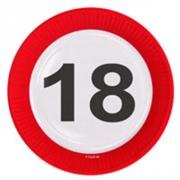 8 Teller 18. Geburtstag