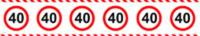 Absperrband 40
